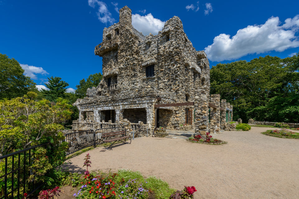 Gillette Castle Outside on a sunny day